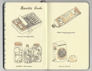 Exotic foods by MattiasA