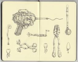 Dentist tools by MattiasA