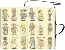 Faces from history by MattiasA