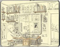 the workstation by MattiasA