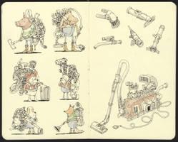 Portable dust removal units by MattiasA
