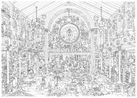 the grande hall by MattiasA