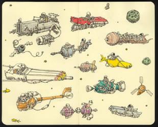 Lost in space by MattiasA