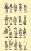 Twenty characters by MattiasA