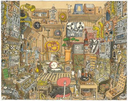 The Home Studio by MattiasA