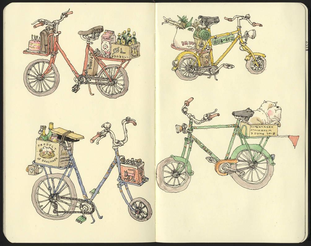 Eight wheels by MattiasA