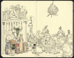 Spacious kitchen by MattiasA