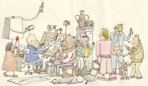 The team behind the artist by MattiasA