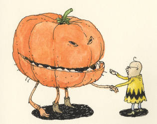 Meeting the Great Pumpkin by MattiasA
