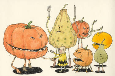 The rest of the Pumpkin family by MattiasA