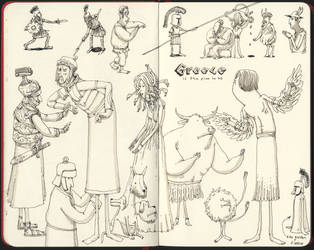 Antique drawings by MattiasA