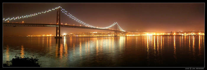 Tagus Bridge by darkgod