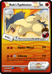 Rob's Typhlosion (SP card) by DBurch01