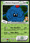 Marina's Tangrowth (SP card) by DBurch01