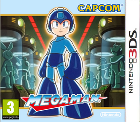 Megaman 3DS boxart by DBurch01