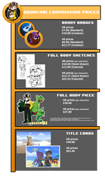 Dburch01 Commission Price Guide by DBurch01
