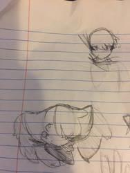 Kaen Sketch by BloodyBraixen