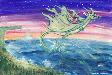Dragon Wings, by Christine Mix copyright 2013 by ChrisMixArt