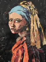 La jeune fille a la perle by Ellisis
