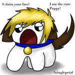 .: He claims your face :. by ASinglePetal