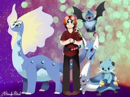 Battle Pokemon team  by ASinglePetal