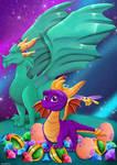 Spyro the dragon  by ASinglePetal