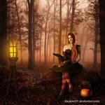 Autumn Witch by jiajenn