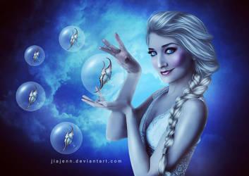 Elsa by jiajenn