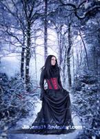 Winter portrait by jiajenn