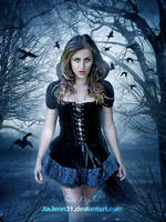 Black witch by jiajenn