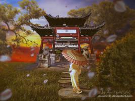 Temple by jiajenn