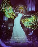Angel Blue by jiajenn