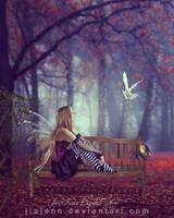 Waiting Fairy by jiajenn