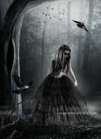 Goth Girl by jiajenn