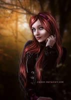 Gothic Girl by jiajenn