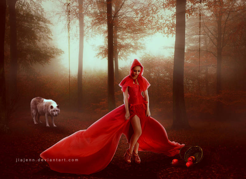 Red riding hood by jiajenn
