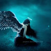 The lighting blue by jiajenn