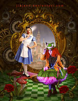 Alice And Mad Hatter by jiajenn