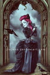 Gothic Doll by jiajenn