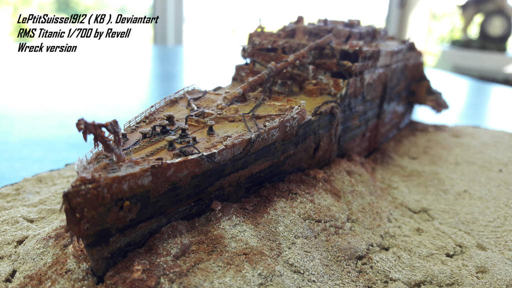 Titanic Wreck The Bow Revell By Leptitsuisse1912 On Deviantart