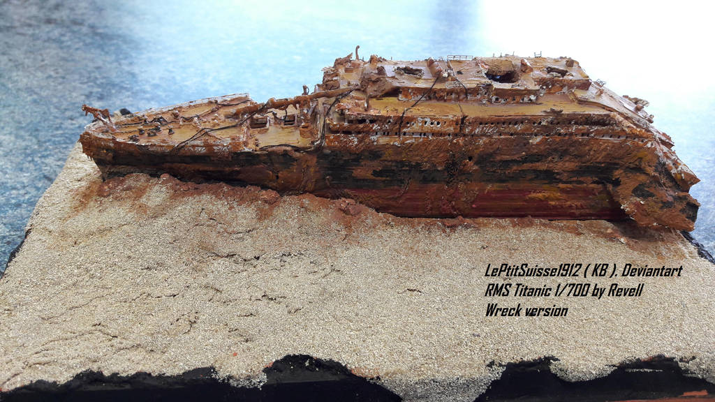 Titanic Wreck The Bow Portside By Leptitsuisse1912 On Deviantart
