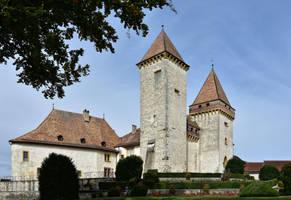 Le chateau de la Sarraz by LePtitSuisse1912