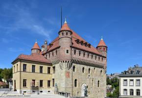 Chateau St-Maire, Siege du Conseil d'Etat Vaudois by LePtitSuisse1912