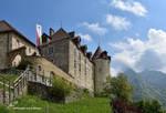 Le Chateau de Gruyeres by LePtitSuisse1912