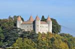 Le Chateau de Champvent by LePtitSuisse1912