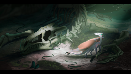 Ancient Story by SeaSaltShrimp