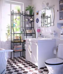 small bathroom by masvaley