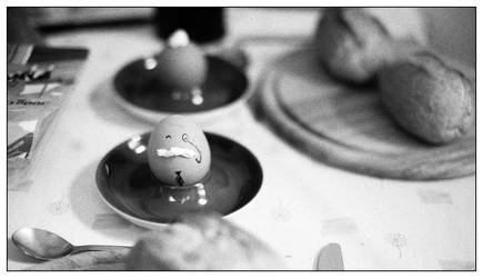 i am the eggman by senfbeu