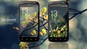 HTC Sensation : Go Green by BespokePixels