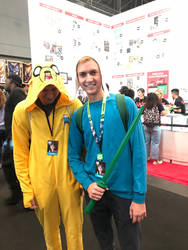 nycc 2018 pic 3 by wolfyloveanime